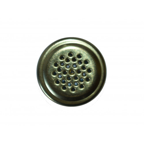 #AS40 VENT S.BRASS GRILL/ZP EYELET