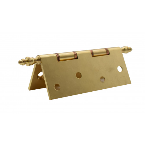 #SOLID BRASS 100MM DECORATIVE HINGE