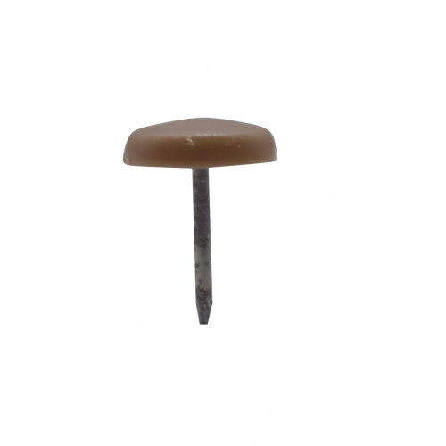 """*15mm (5/8"""") DOME 1 PRONG GLIDE - BEIGE"""