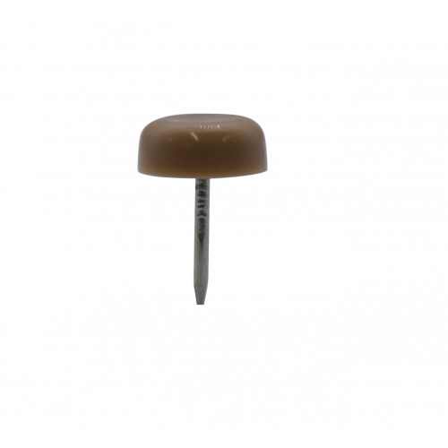 "*15mm (5/8"") FLAT 1 PRONG GLIDE - BEIGE"