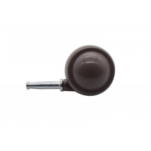 50mm BROWN Z/A BALL CASTOR