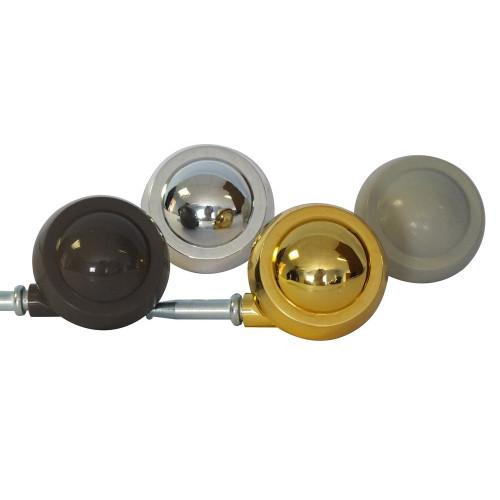 #50mm GOLD Z/A BALL CASTOR/SKT