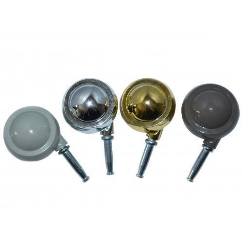 *50mm BEIGE FGN BALL CASTOR/SKT