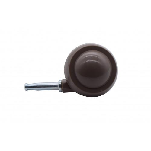 50mm BROWN FGN BALL CASTOR/SKT