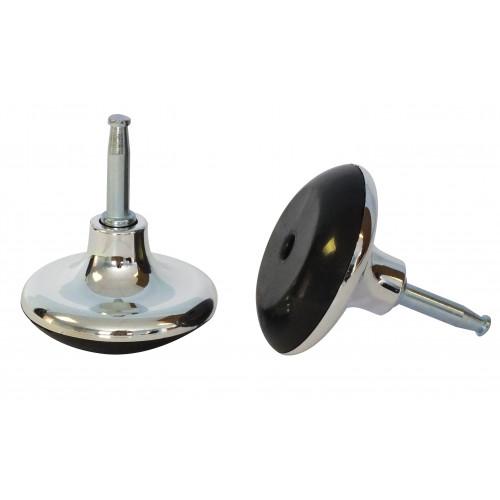 40mm MUSHROOM GLIDE BLACK/CHROME/SKT