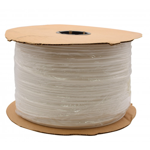 *5mm WHITE PLASTIC PIPING CORD (6 Rolls)