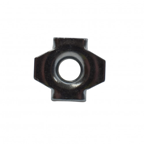 M8 LONG BARREL SERRATED T NUT