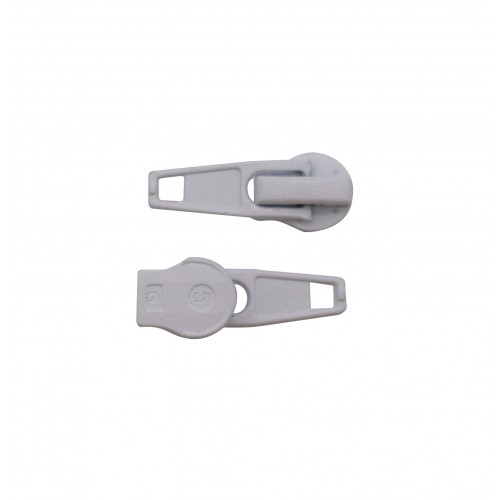 No:5 WHITE AUTOLOCK SLIDERS