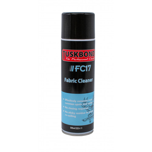 FABRIC/UPHOLSTERY CLEANER 500ml CAN