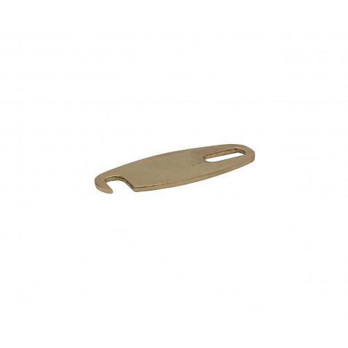 85mm OVAL L/BAR ZA GOLD PLTD