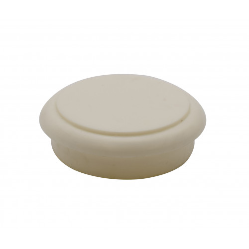 WHITE RING HANDLE - CHIP BACK (SS)