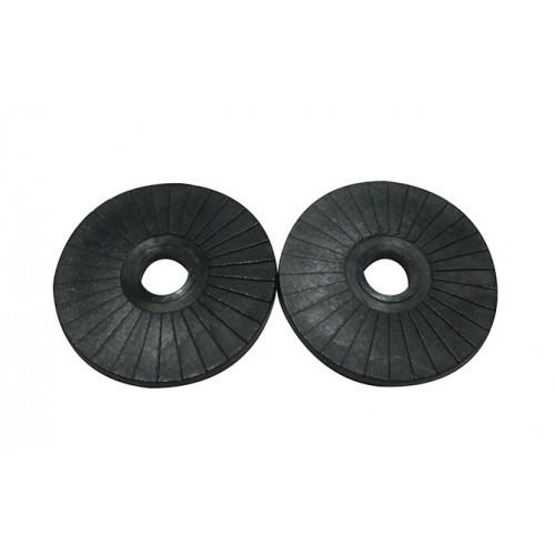 BLACK PLASTIC WASHER 50mm x 3mm