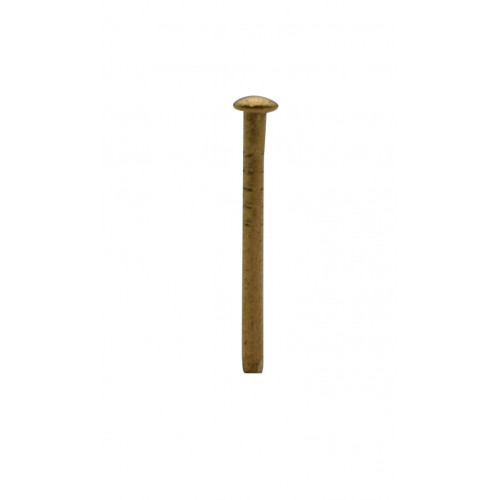 20mm x 1.60mm SOLID BRASS PIN