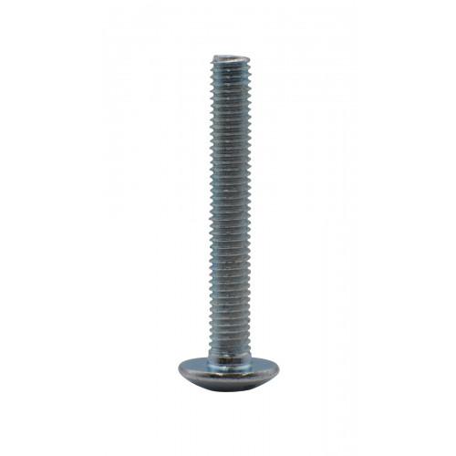 M5 x 35mm MUSH HEAD ZINC PLAT BOLT