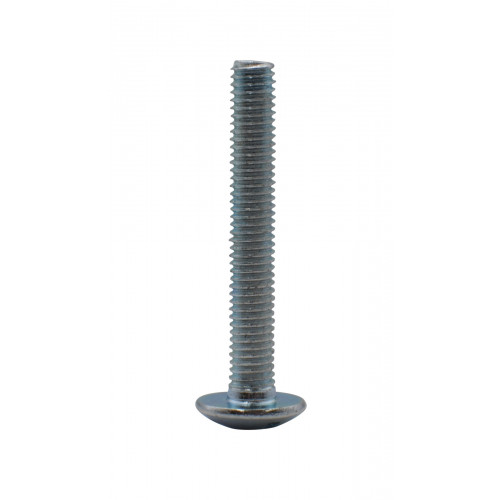 M5 x 35mm MUSH HEAD ZINC PLAT BOLT