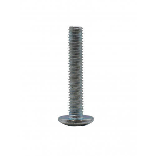 M6 x 35mm MUSH HEAD ZINC PLAT BOLT