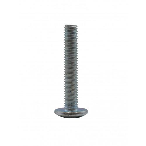 M6 x 35mm MUSH HEAD ZINC PLAT BOLT