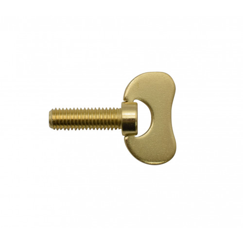 M6 x 20mm WING HEAD BRASSED BOLT