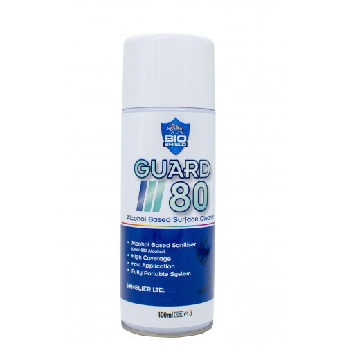 GUARD 80 SURFACE CLEANER SPRAY 400ml CAN